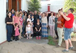 Празднование Дня независимости Чили в приходе Св. Николая Сербского