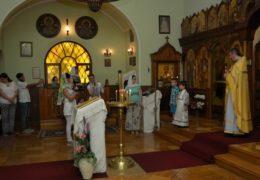 Celebración de San Sava de Serbia en la comunidad rusa-serbia en el nombre de San Nicolás de Serbia en Santiago