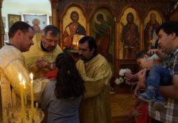 Прва литургија на шпанском језику у цркви Свете Тројице и Казанске иконе Божије Мајке