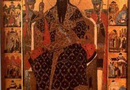 24.11. Viernes, San Esteban de Déchani, rey de Serbia
