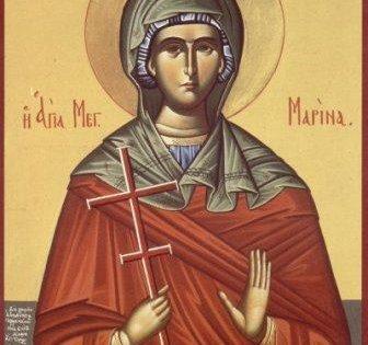 Света мученица Марина – Огњена Марија