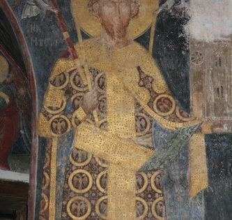 Bienaventurado Esteban (Stefan), Rey de Serbia, y su madre, Santa Militsa