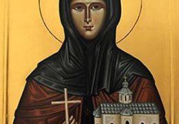12.08. Субота,  Света преподобна мајка Ангелина, деспотица српска