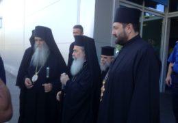 Патријарх јерусалимски Теофилo III допутовао у Црну Гору