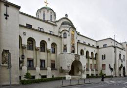 Beograd ; SPC ; Patrijarssija , Srpska pravoslavna crkva , zgrada 16.05.2011. Snimio:Dragan Jevremovich
