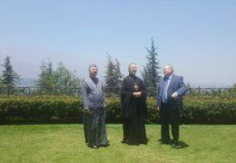 Митрополит Игнатий посетил резиденцию Посла Российской Федерации