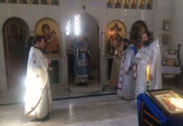 Митрополит Амфилохије 6. децембра одслужио Литургију у Саборном храму Рођења Мајке Божије у Буенос Аиресу