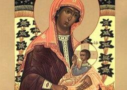 Икона Божией Матери »Млекопитательница»