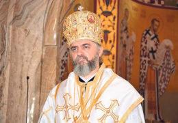 En el día de Teofanía el Obispo Kirilo bendijo las aguas en la Catedral