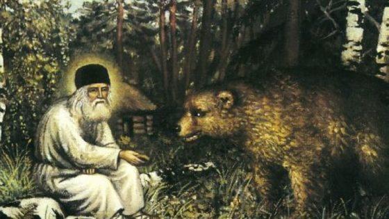 Reposo del Venerable Serafín Milagroso de Sarov