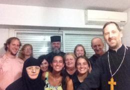 Епископ Кирило 4. фебруара у Росариу у Аргентини одслужио Литургију