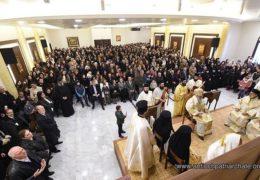 Освећена црква Светог Пајсија у Сирији и одслужена прва Литургија