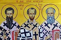 Sinaxis de los tres santos jerarcas