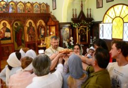 El día de Santa Xenia de San-Peterburgo