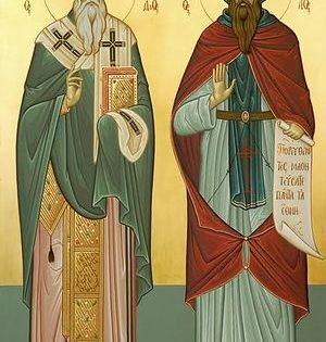 Святитель Мефодий и преподобный Кирилл, просветители славян