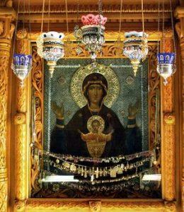 Чудотворная икона Божией Матери «Неупиваемая Чаша»