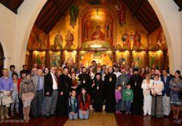 Концерт в честь визита Высокопреосвященного Митрополита Игнатия и Преосвященного Епископа Антония в Сантьяго, Чили