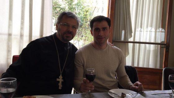 День грузинской кухни в приходе Св. Троицы и Казанской иконы Божией Матери в Сантьяго, Чили