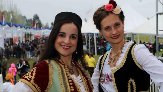"Фестивал нација ""Fiesta de las naciónes"" у Чилеу"