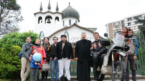 Сусрет са светским путником на мотоциклу, Олегом Харитоновим
