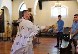 Богоявление 2018 г. в приходе Св. Николая Сербского, Чили