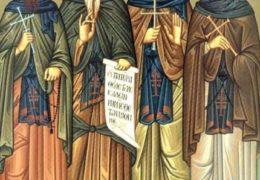 Свети преподобни Ксенофонт и Марија, и синови њихови Јован и Аркадије