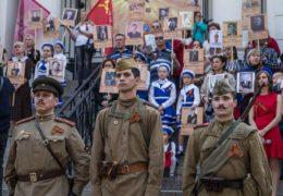 Празднование Дня Победы в Сантьяго, Чили