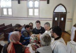 Приходская слава в русско-сербской общине в Сантьяго, Чили – прославление Св. Николая Сербского