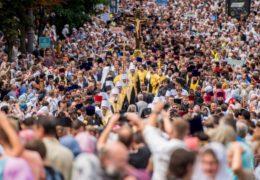 У литији у Кијеву 250 хиљада верника