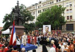 В Сербии почтили память Царственных Страстотерпцев