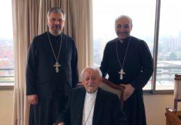 Visita a S.E.R. Monseñor Sergio Abad, Arzobispo Metropolitano de la Arquidiócesis Ortodoxa de Chile del Patriarcado de Antioquía