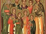 Los Siete Santos Mártires Macabeos