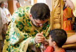 La Eucaristía, desde la perspectiva de un niño