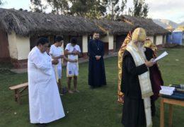 El Metropolita Amfilohije visitó la ciudad Inca de Cusco y bautizó a habitantes