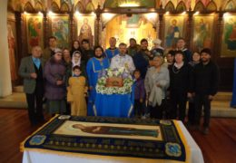 Успение Пресвятой Богородицы в приходе Св. Николая Сербского,  Сантьяго, Чили, 2018