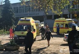 Святейший Патриарх Кирилл глубоко скорбит в связи с трагедией в Керчи