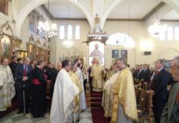 Праздничное богослужение в честь 100-летия присутствия православной церкви Антиохийского патриархата в Чили.