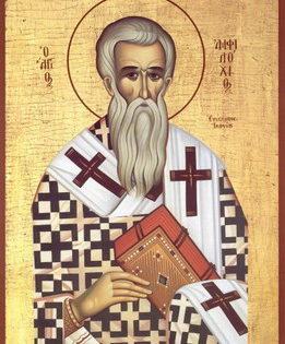 San Anfiloco, Obispo de Iconium