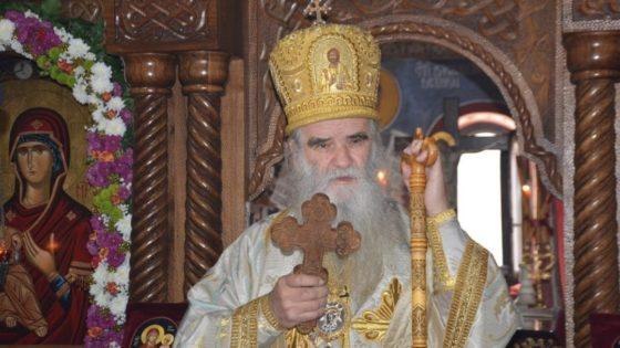 Митрополит Амфилохије у манастиру Жупа никшићка прославио имендан