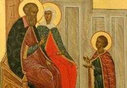 Преподобные Кирилл и Мария Радонежские, родители преподобного Сергия Радонежского