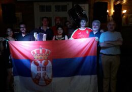 Celebración del año nuevo serbio en Santiago de Chile