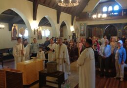Богоявление 2019 г. в приходе Св. Николая Сербского, Сантьяго, Чили