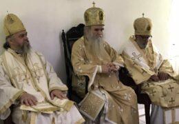Митрополит Амфилохије на празник Света три јерарха служио Литургију у манастиру Свете Тројице у Ресифеу