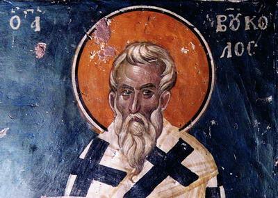 San Bucolo, Obispo de Esmirna