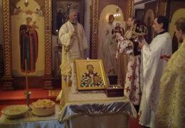 El Metropolita Amfilohije y el obispo Kirilo celebraron la Liturgia en la Catedral de la Natividad de la Virgen en Buenos Aires