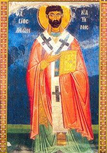 San León, obispo de Catania