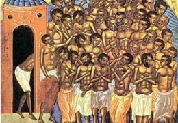 Los 40 Mártires de Sebaste