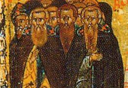 Los 44 Padres masacrados en el Monasterio de San Sabas