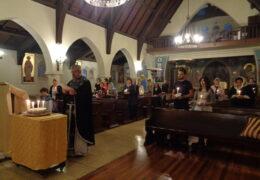 Света тајна јелеосвећења у парохији Св.Николаја Жичког