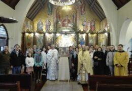 Вербное воскресенье в приходе Св. Николая Сербского, Сантьяго, Чили